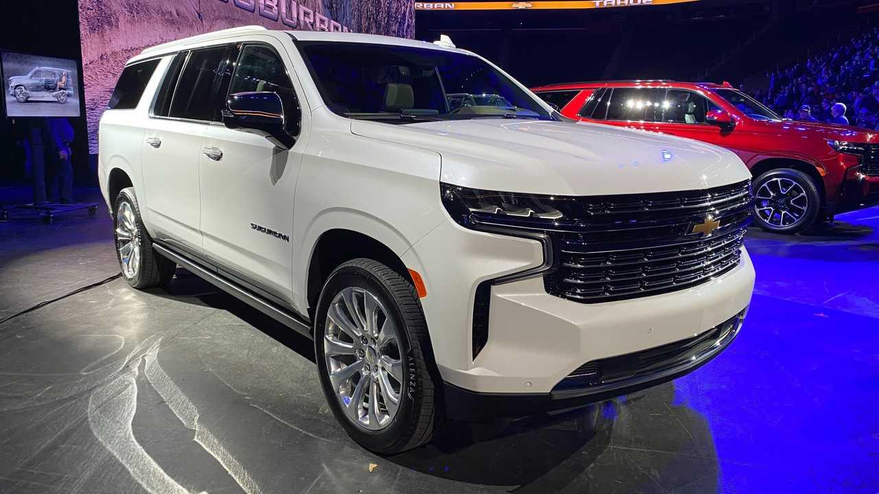 2021 Chevrolet Suburban Still