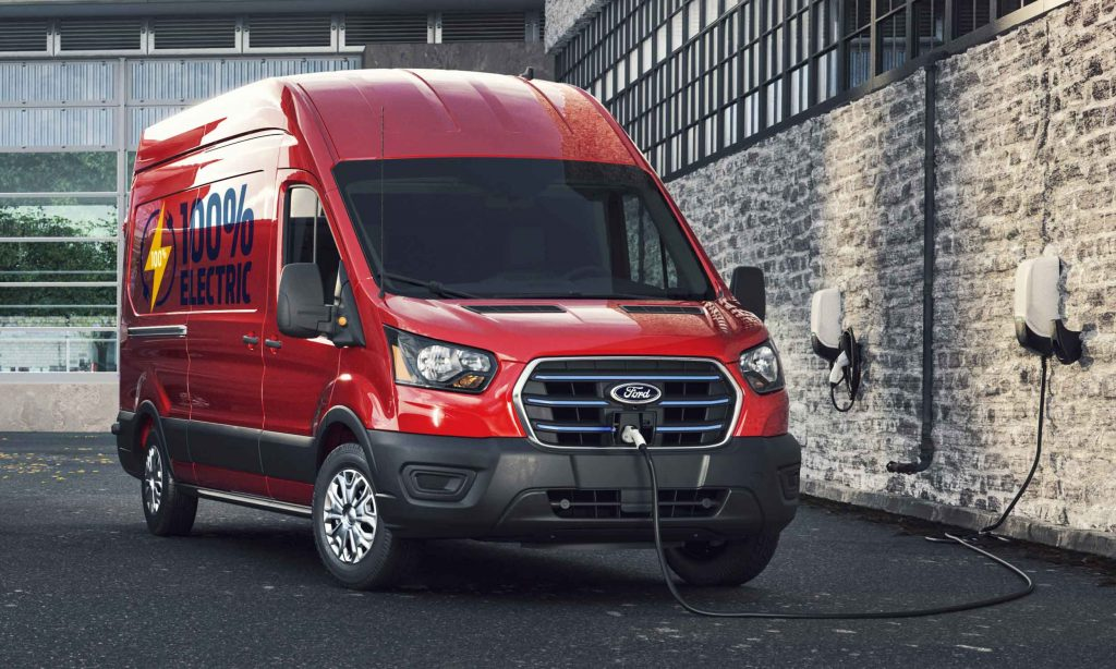 2022 Ford E-Transit Specification and Details