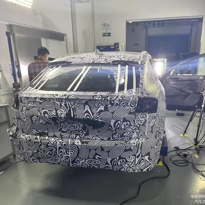 Leaked Image of New Ford Fusion Wagon