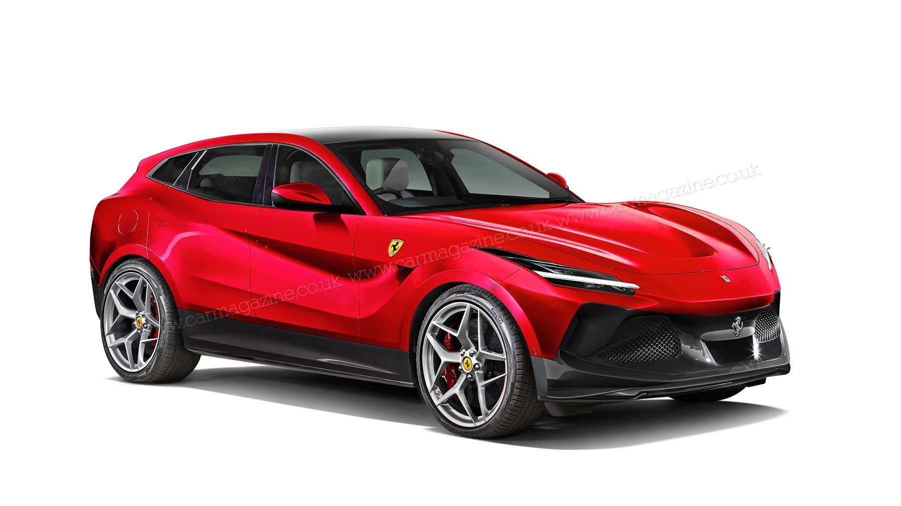 2022 Ferrari Purosangue SUV